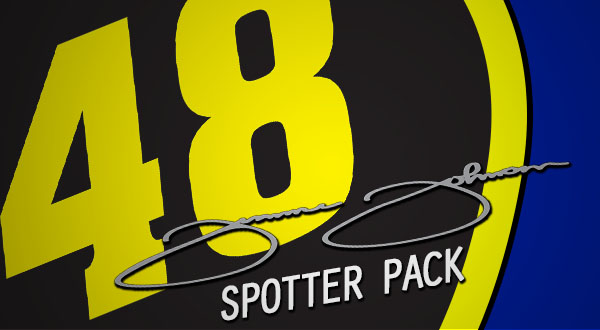 Jimmie Johnson Spotter Pack