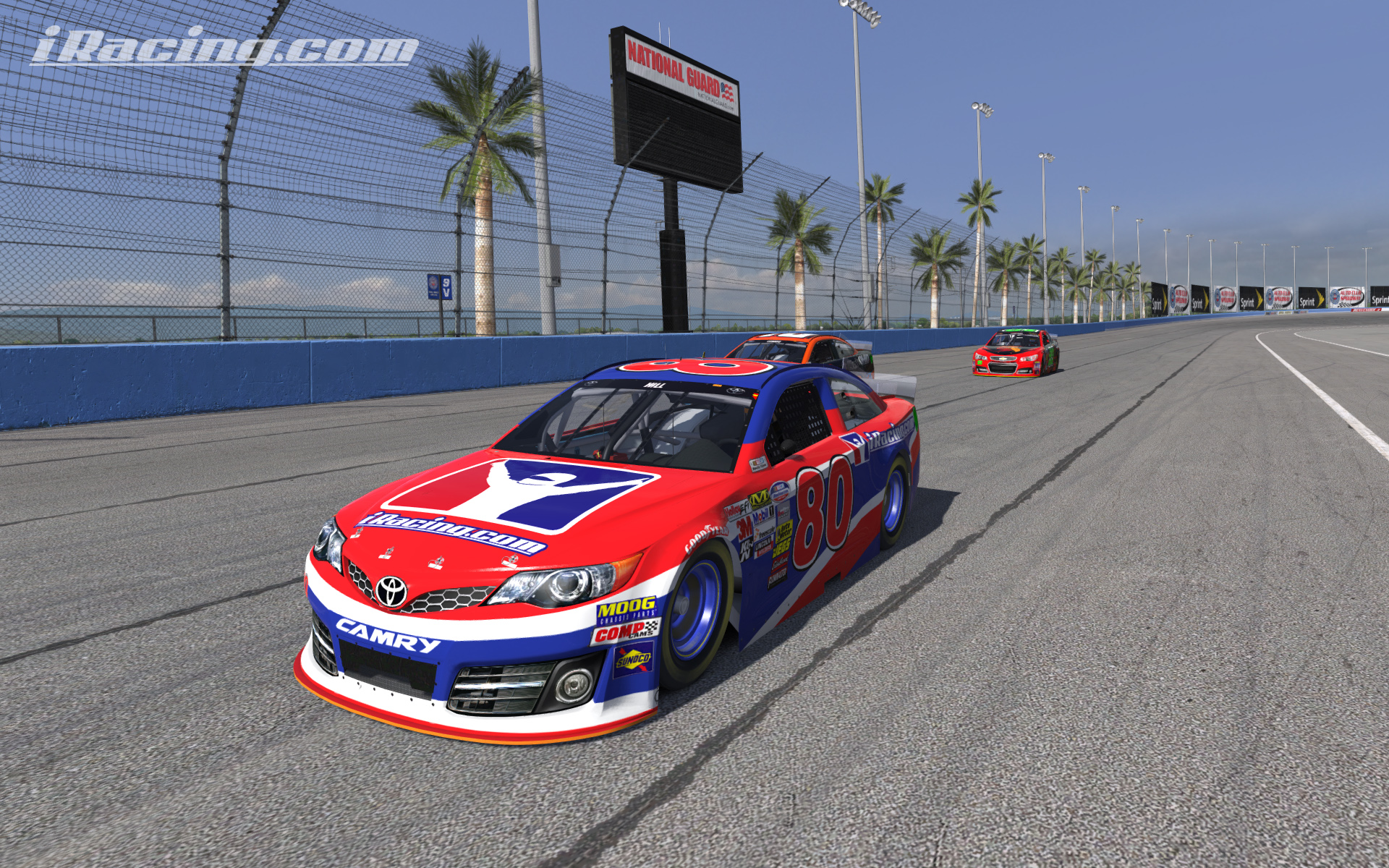 toyota camry gen 6 now available on iracing. Black Bedroom Furniture Sets. Home Design Ideas