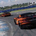 Donington Park Racing Circuit Background